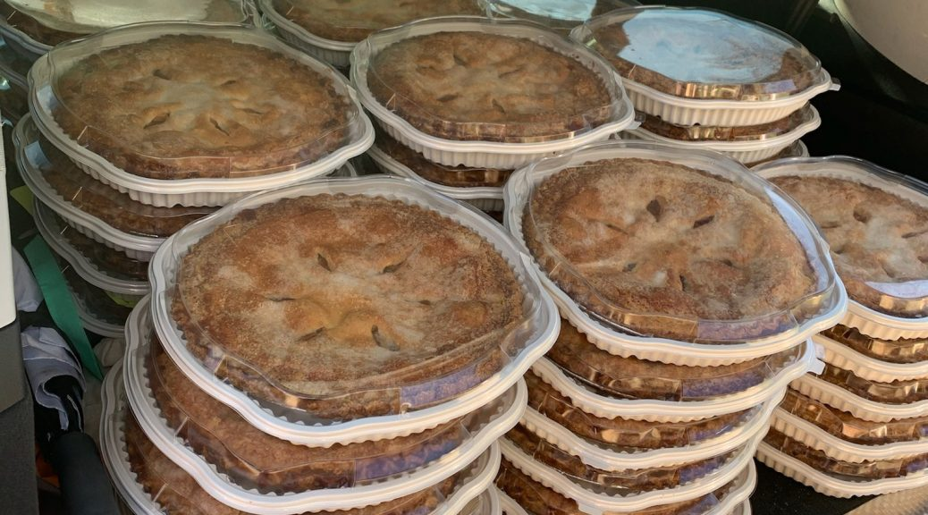 Thanksgiving pie giveaway 2020 5 sq